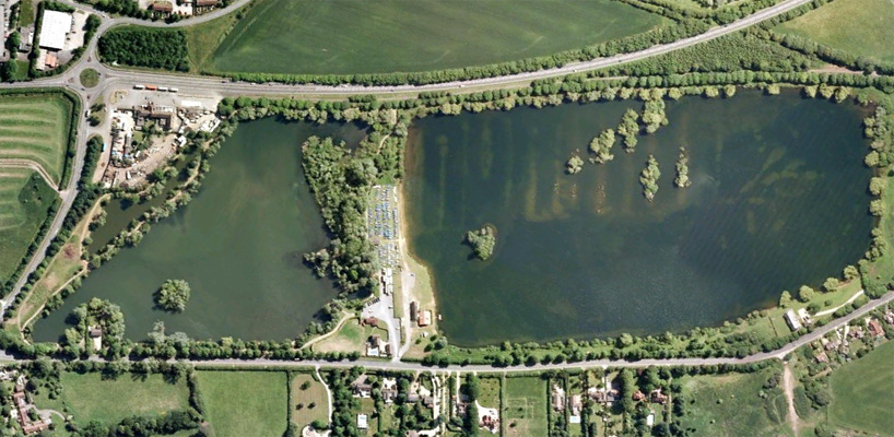 Orchid Lakes Carp Fishing Lake In Oxford Oxfordshire
