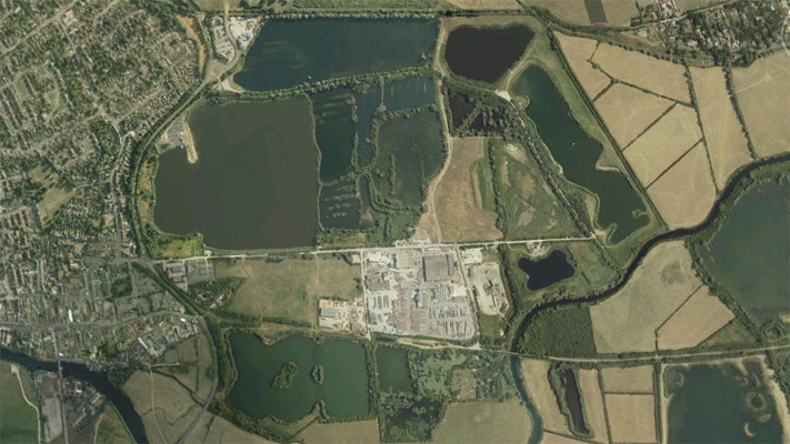 St Ives Lakes Lagoon Cambridgeshire Carp Fishing